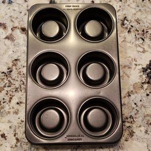 Cooks Choice 6 mini Angel Food cakes  pan